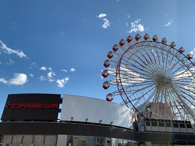 ノルベサ『桜キャンペーン』-5月5日はこどもも、大人も、観覧車乗車無料!