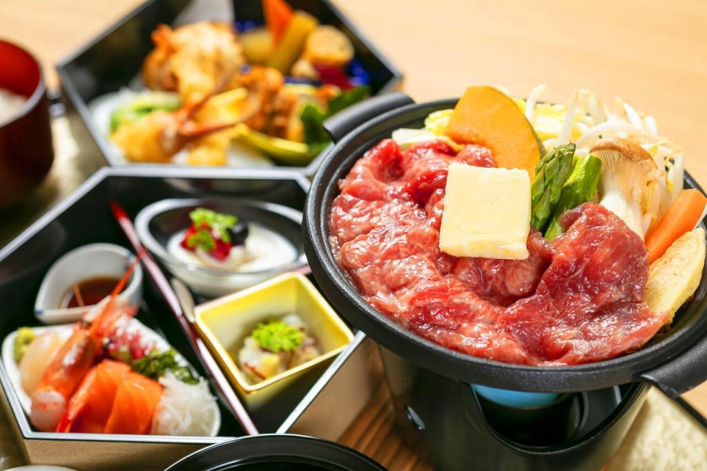 SAKURA定山渓 膳の通常夕食イメージ