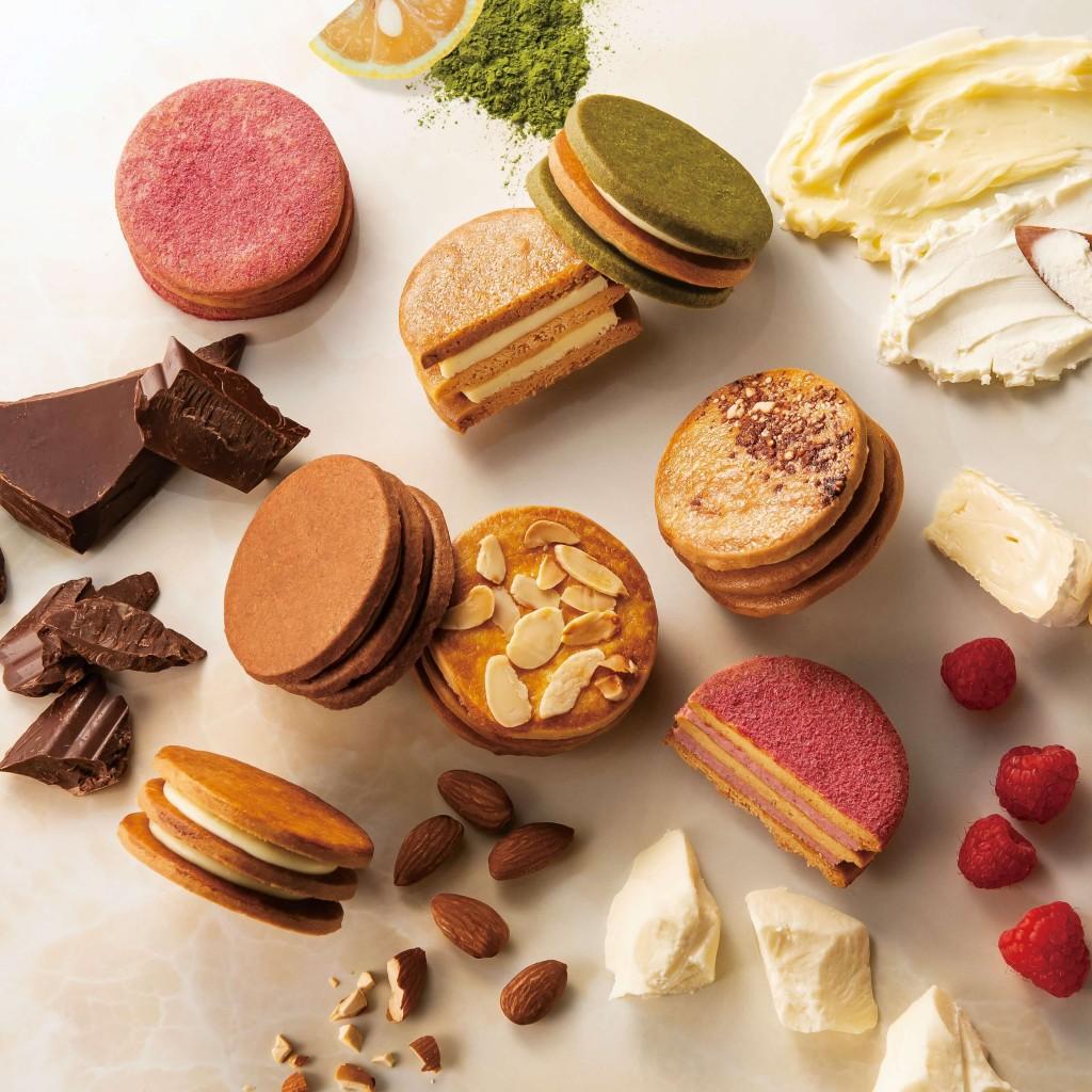 フェルム ラ・テール美瑛の「バターチーズサンド-ダブルクリーム-」の新作5種類