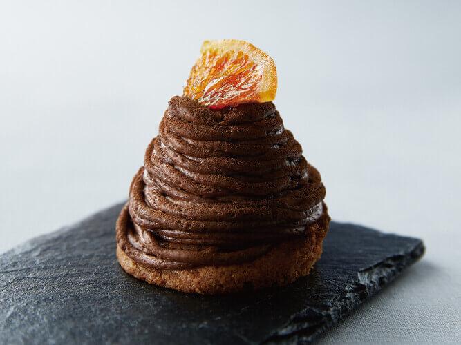 PRONTO(プロント)の『生チョコオレンジモンブラン』