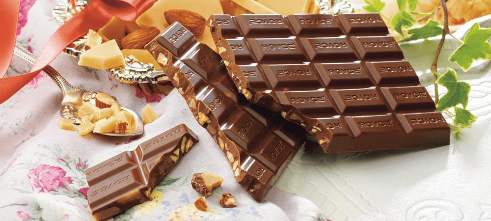 ロイズ『英国フェア』-板チョコレート[トフィー&アーモンド]