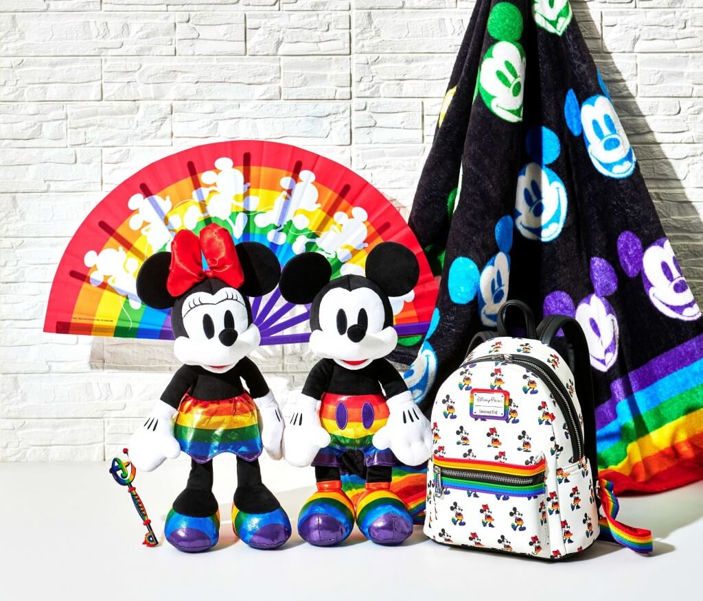 ディズニーストア『The Walt Disney Company's Pride Collection』