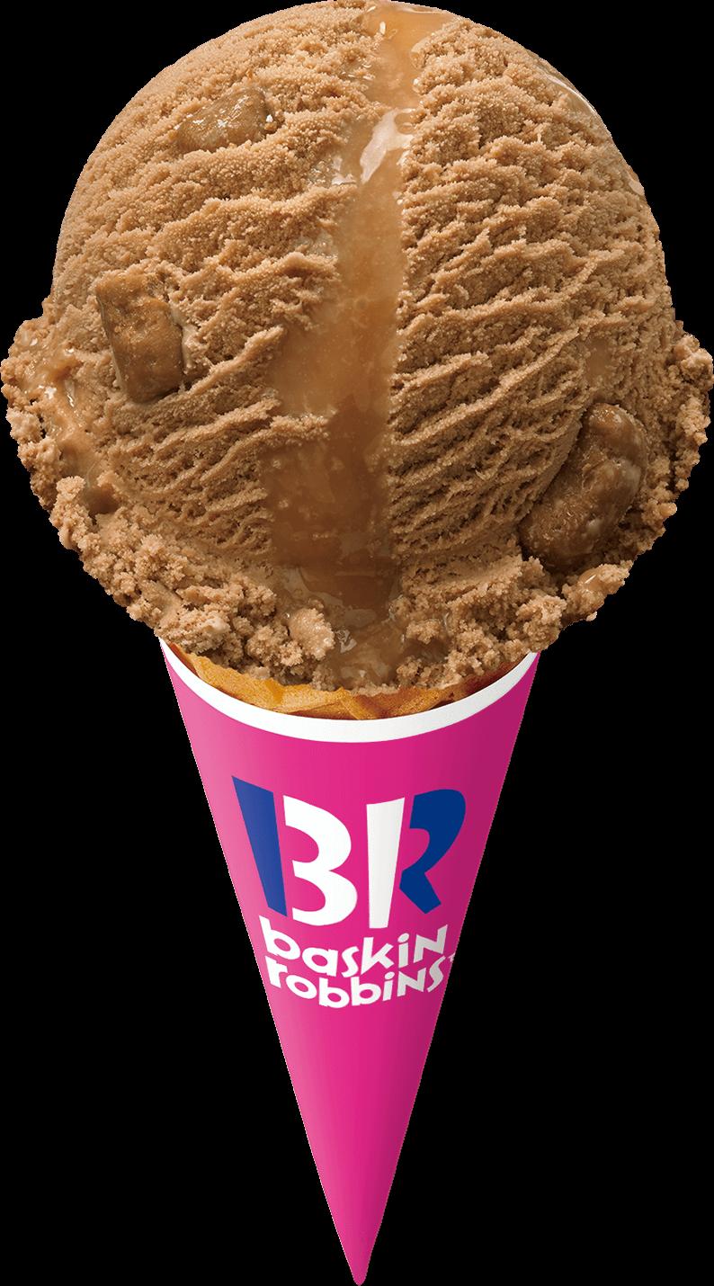 サーティワン アイスクリームの『ワンダフル キャラメル プレッツェル』