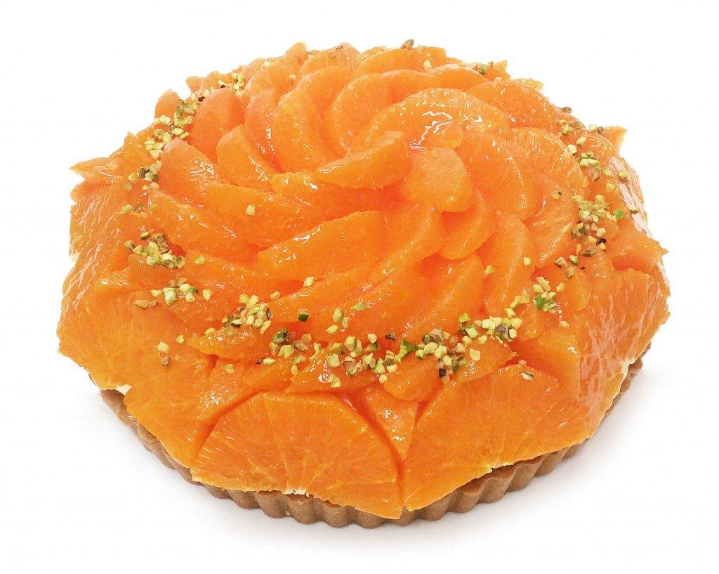 カフェコムサの『愛媛県 宇和島 山内農園産「せとか」とピスタチオレアチーズのケーキ』
