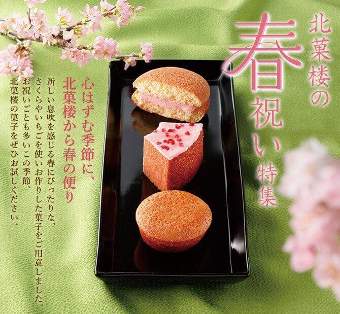 北菓楼の『春のお祝い特集』