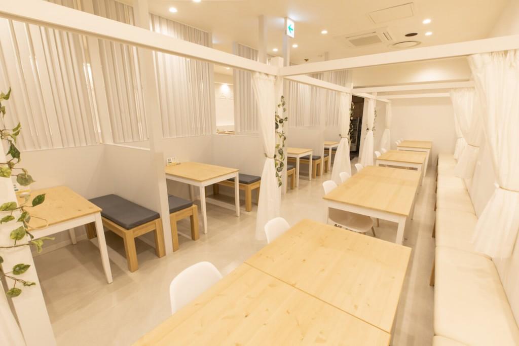 【ぽんぽこ亭】食べるすぅぷ×発酵料理の店内