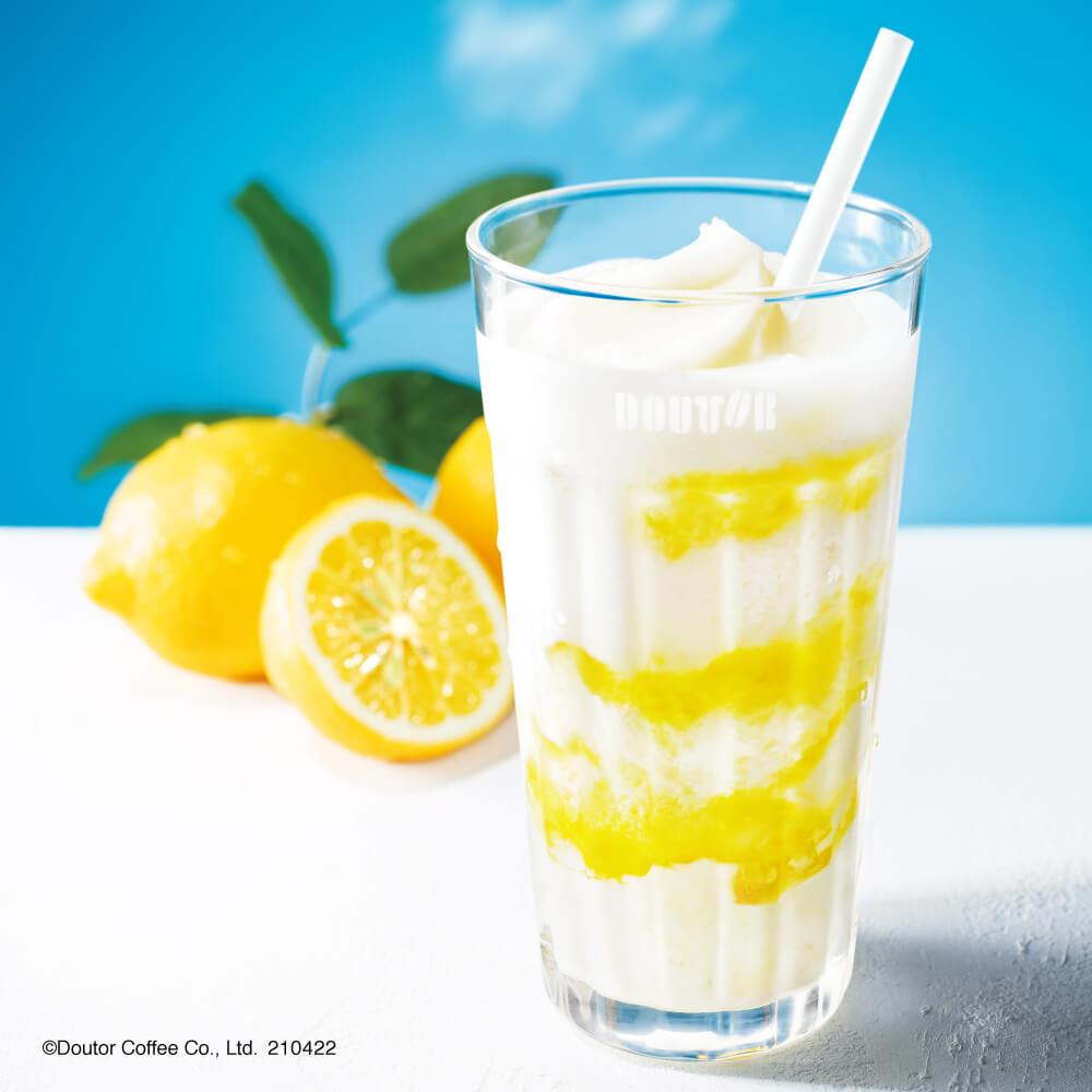 ドトールコーヒーの『瀬戸内レモンヨーグルン』
