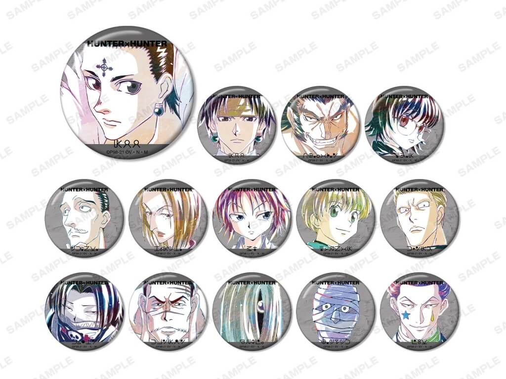 『HUNTER×HUNTER』Ani-Art アニメイトフェア in 2021 Spring-トレーディング Ani-Art 第2弾 缶バッジ(全14種)