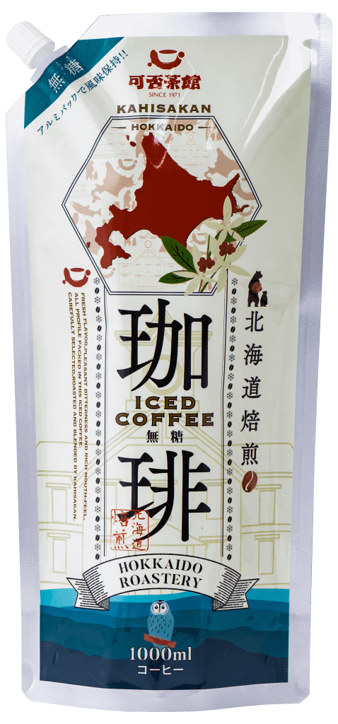 『可否茶館 アイスコーヒー パウチタイプ 無糖』