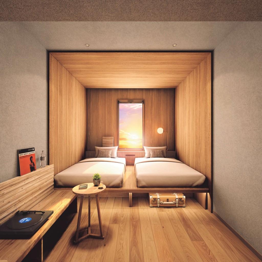 ザ ロイヤルパーク キャンバス 札幌大通公園-9~11階は木造フロア。内装にも北海道産木材を使用。