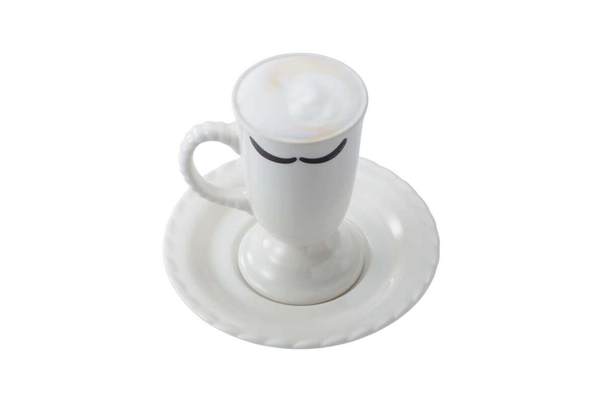 びっくりドンキーの『贅沢ミルク泡カプチーノ』