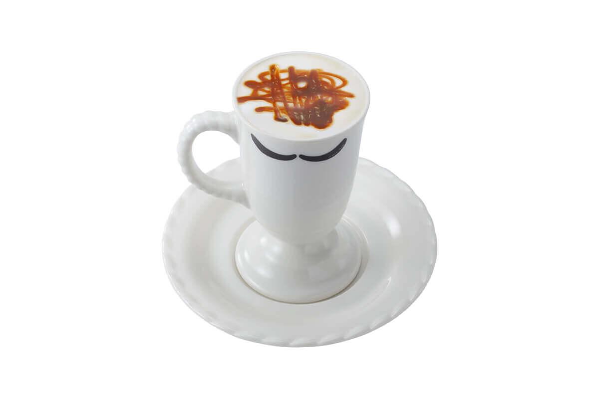 びっくりドンキーの『贅沢ミルク泡キャラメルマキアート』