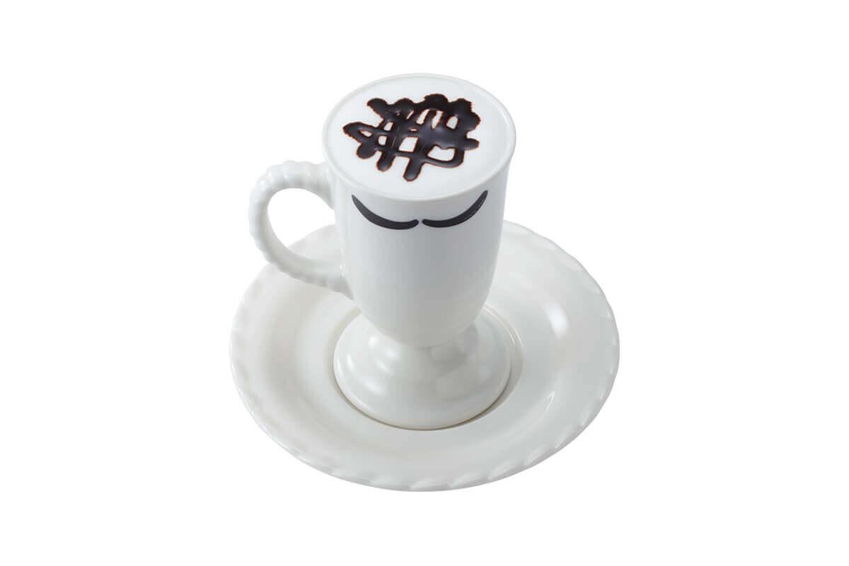 びっくりドンキーの『贅沢ミルク泡ホットチョコ』