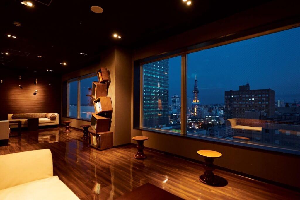 クロスホテル札幌-18階展望ラウンジ