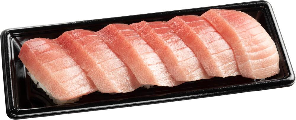 スシロー『GW100円(税込110円)ネタと肉祭』-「中とろ6貫セット」