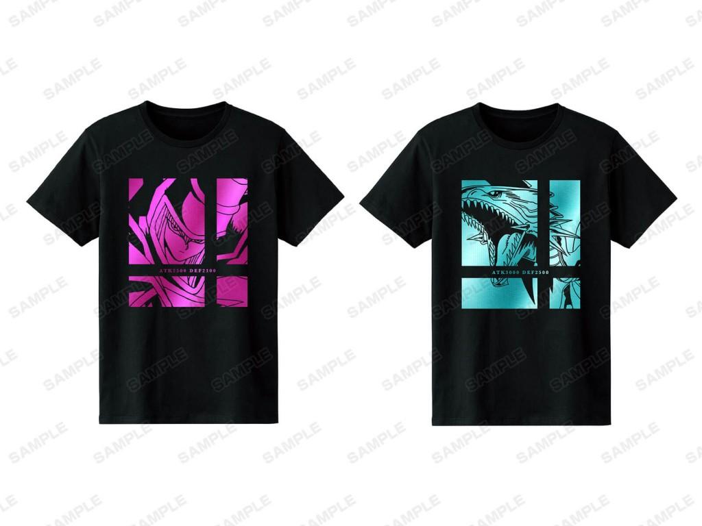 「遊☆戯☆王デュエルモンスターズ」「遊☆戯☆王SEVENS」POP UP STORE in ロフトの箔プリントTシャツ(全2種)