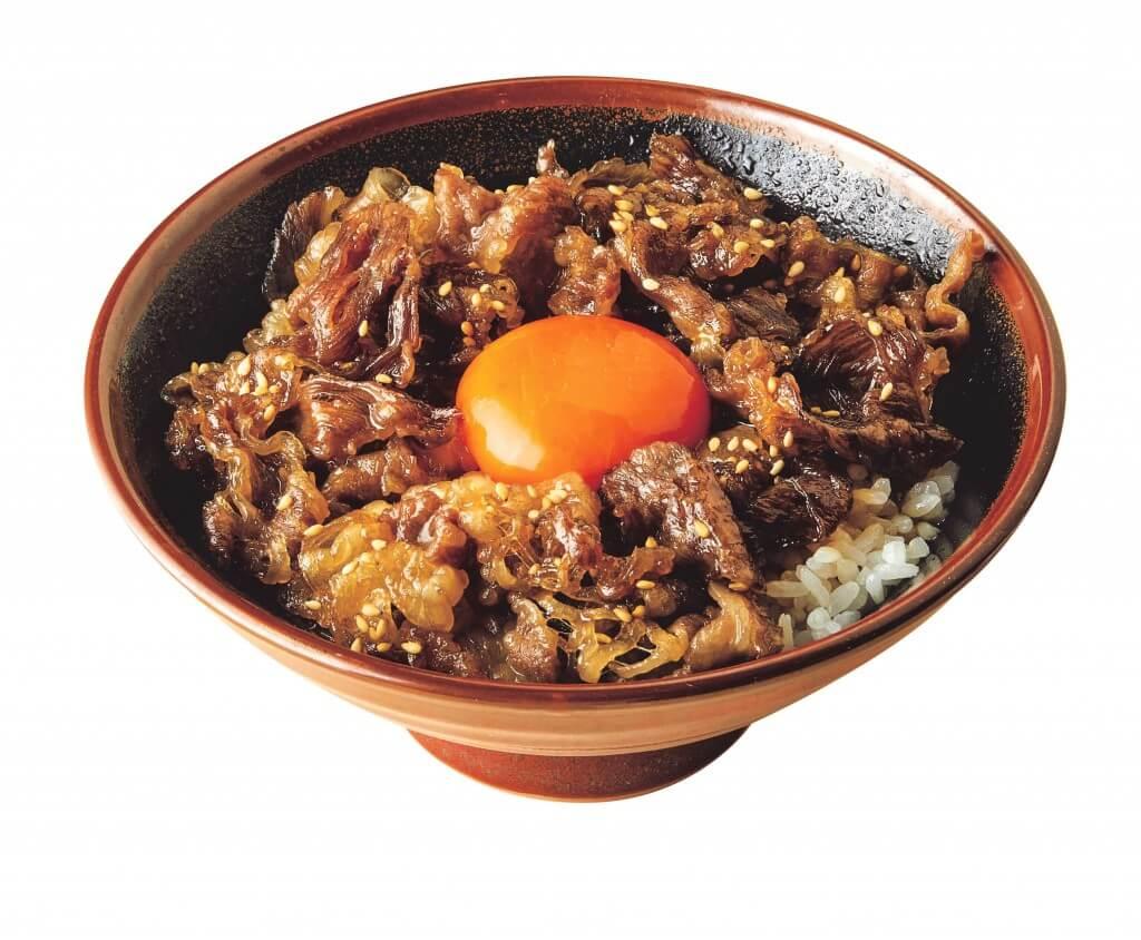 丸亀製麺『神戸牛すき焼き丼』