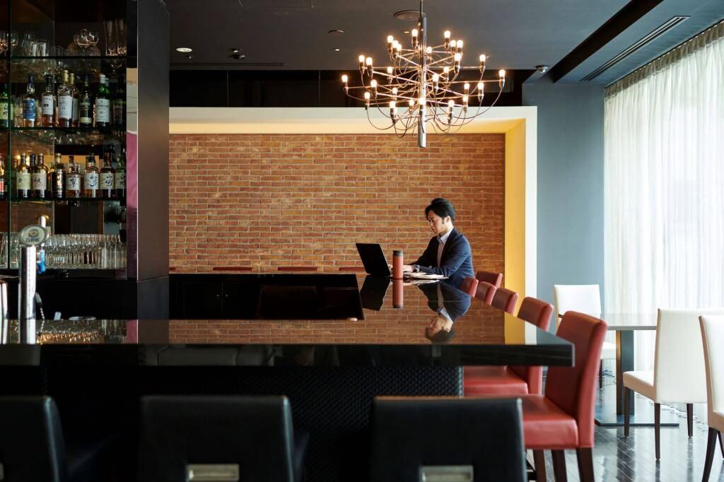 クロスホテル札幌-「meetlounge」店内