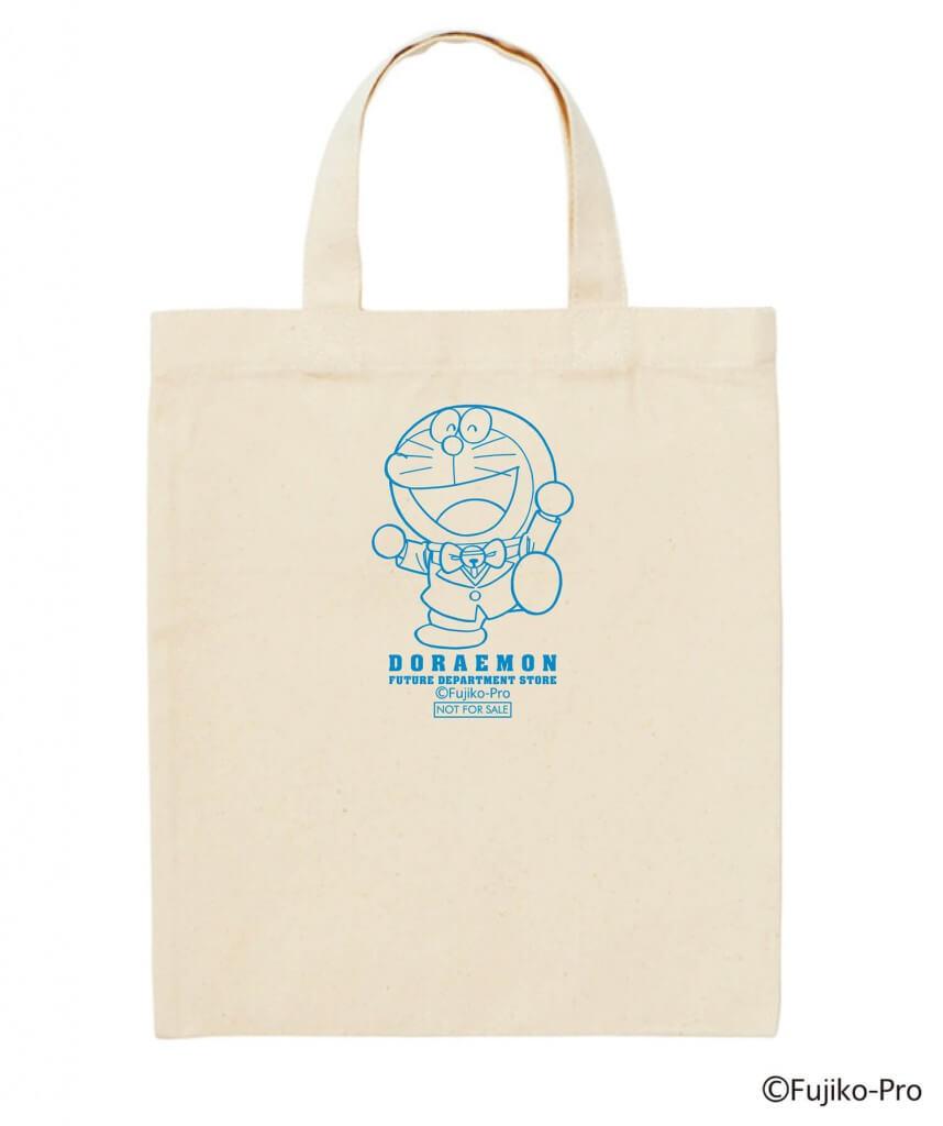 『ドラえもん未来デパート IN 札幌パセオ 2021』-ミニトートバッグ(非売品)