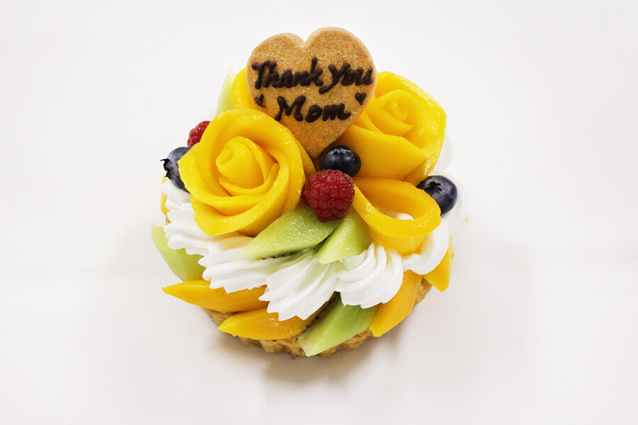 カフェコムサの『母の日 手作りケーキ キット』