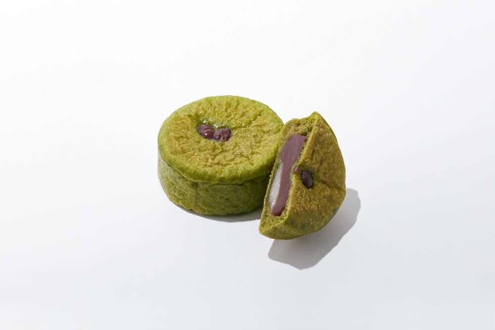BOUL'ANGE(ブール アンジュ)の抹茶フェア『抹茶のこしあんパン』
