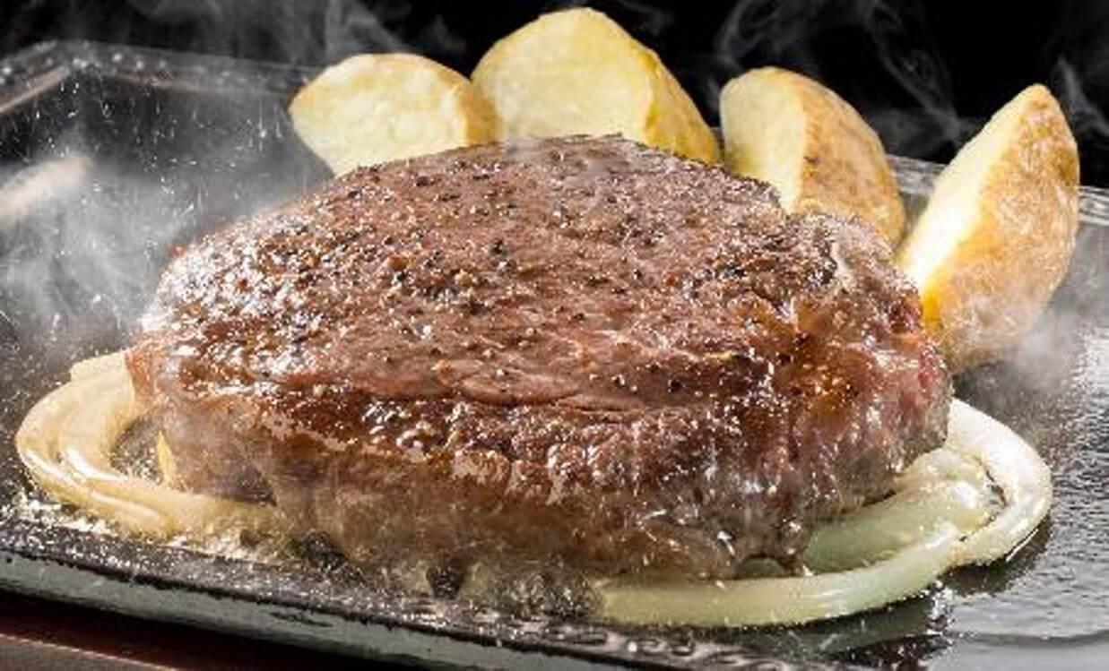 ステーキガストの『黒毛和牛ヒレステーキ』