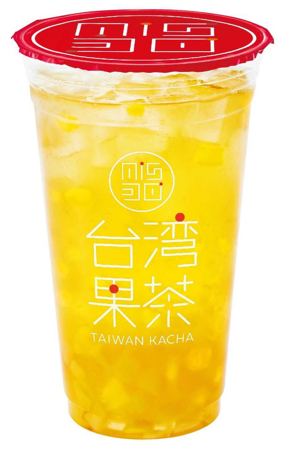 ミスタードーナツ『台湾果茶』-パインマンゴージャスミン