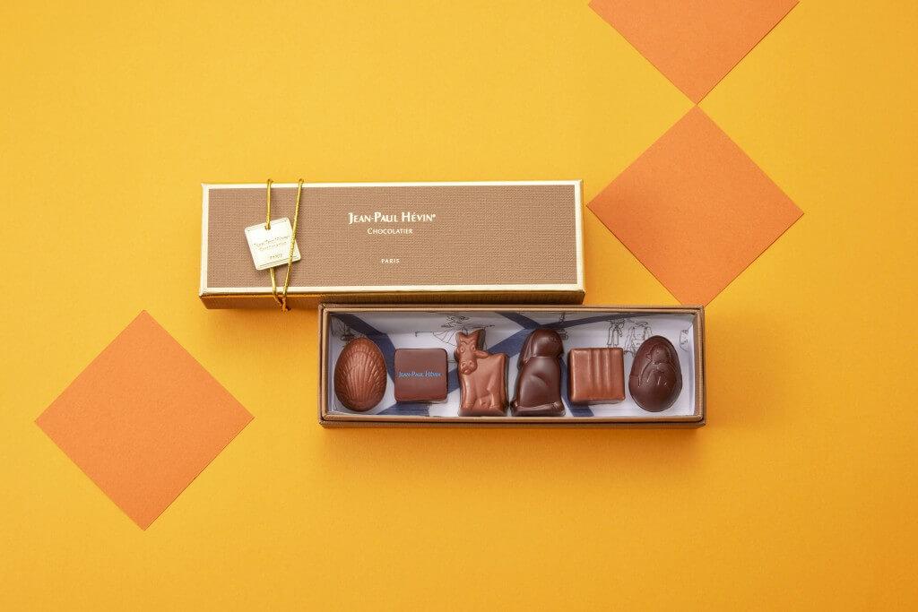 ジャン=ポール・エヴァン『2021 イースター コレクション』-ボンボン ショコラ 6個 パック