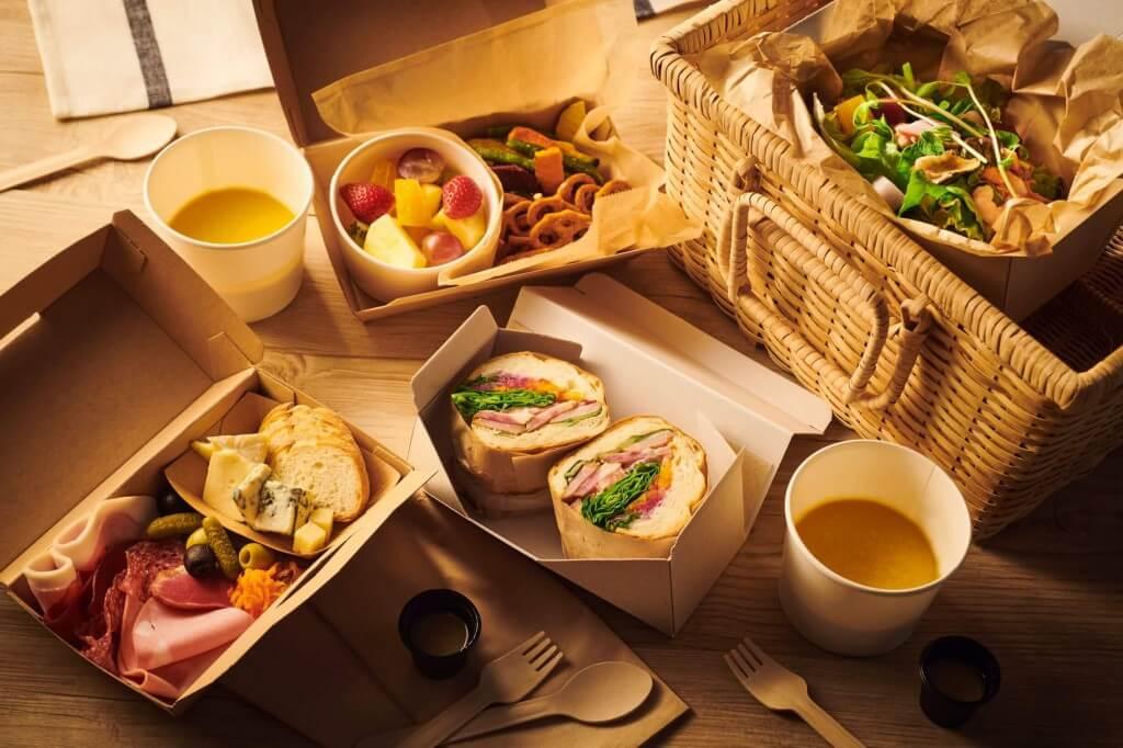 クロスホテル札幌『ナイトピクニックプラン』のナイトピクニック料理