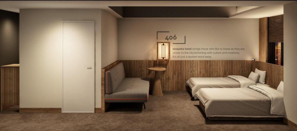 ビスポークホテル札幌の客室