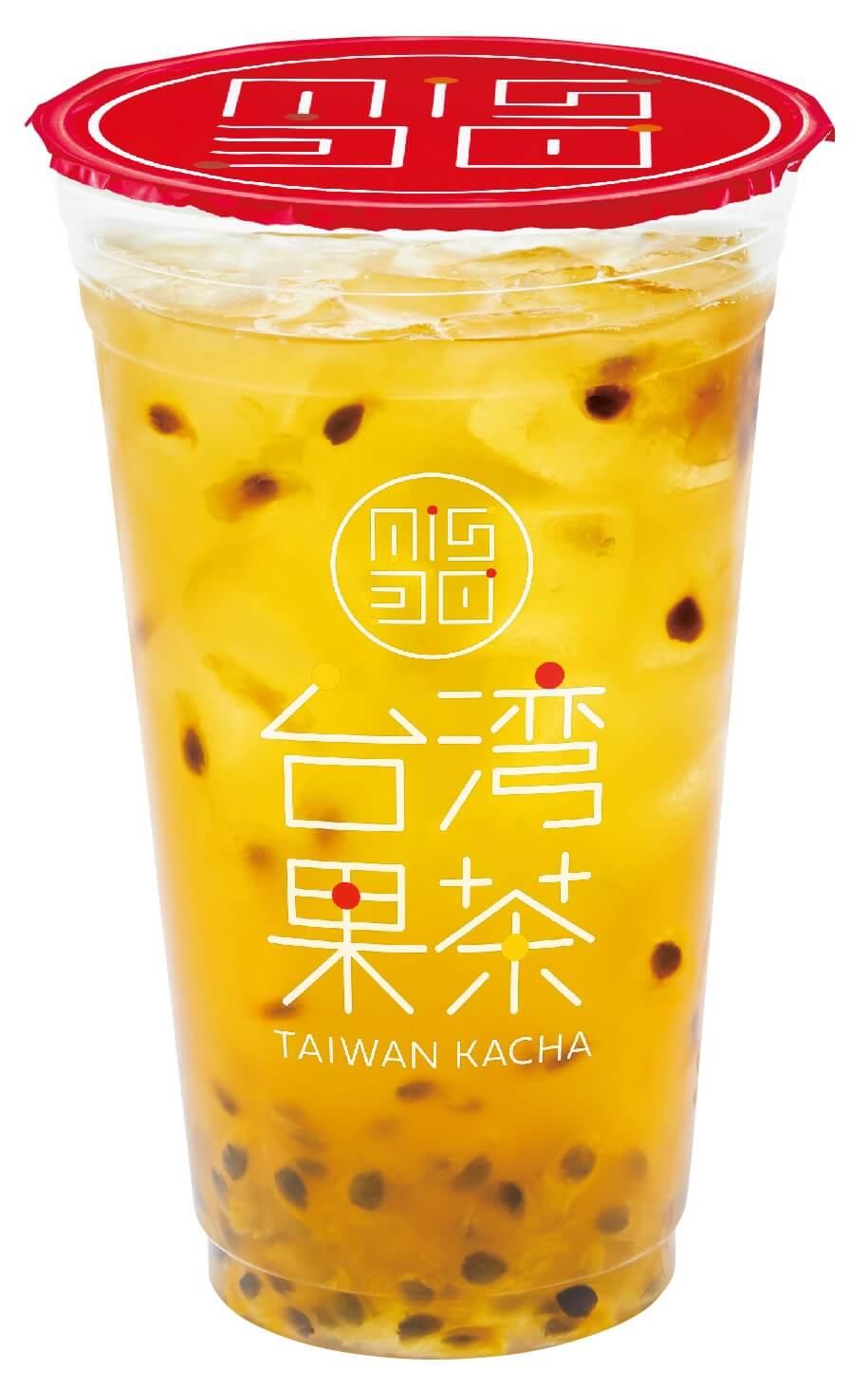 ミスタードーナツ『台湾果茶』-パッションフルーツジャスミン