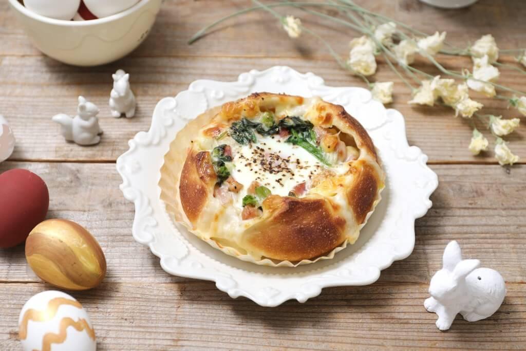 ハートブレッドアンティークの『イースターエッグチーズフランス』