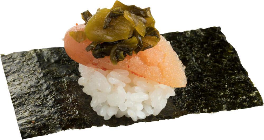 スシロー『大九州展』-やまや明太子高菜包み