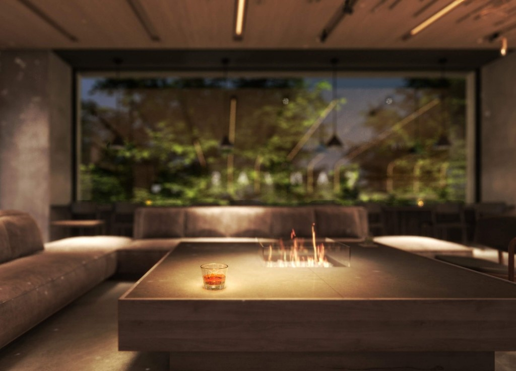 ザ ロイヤルパーク キャンバス 札幌大通公園-ラウンジは大通公園に面した特等席。北海道産のお酒やカジュアルフードも提供される
