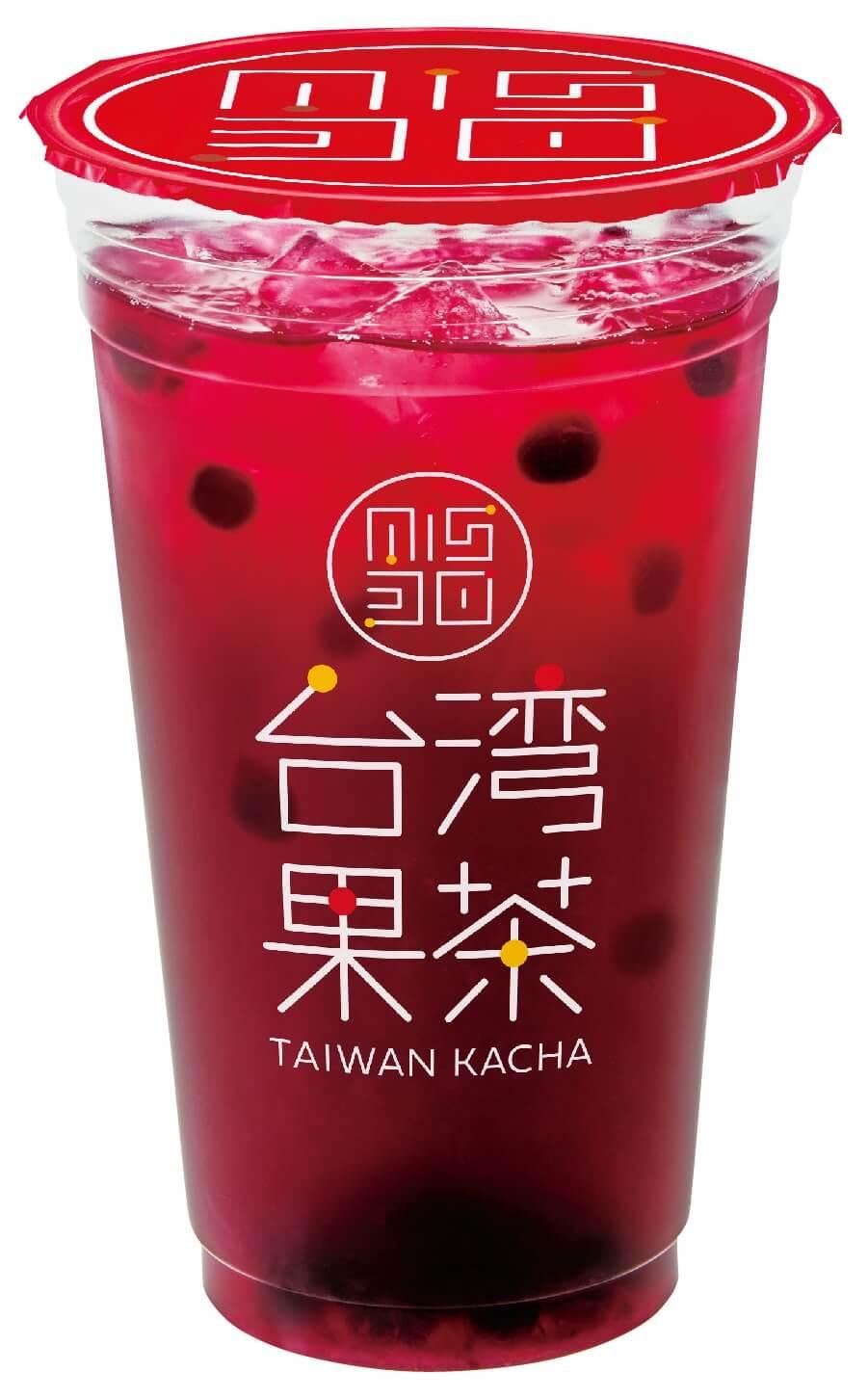 ミスタードーナツ『台湾果茶』-ミックスベリージャスミン