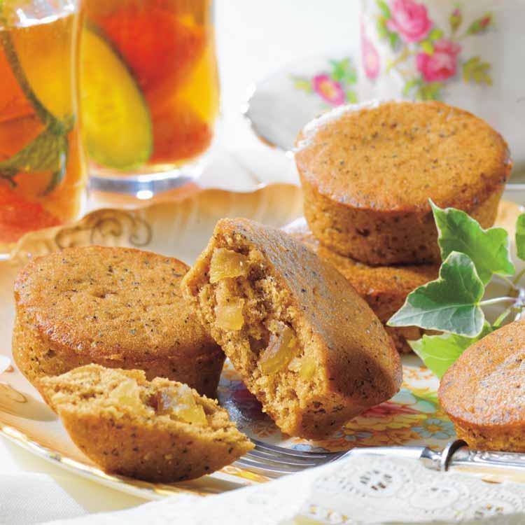 ロイズ『英国フェア』-紅茶とりんごのプチケーキ