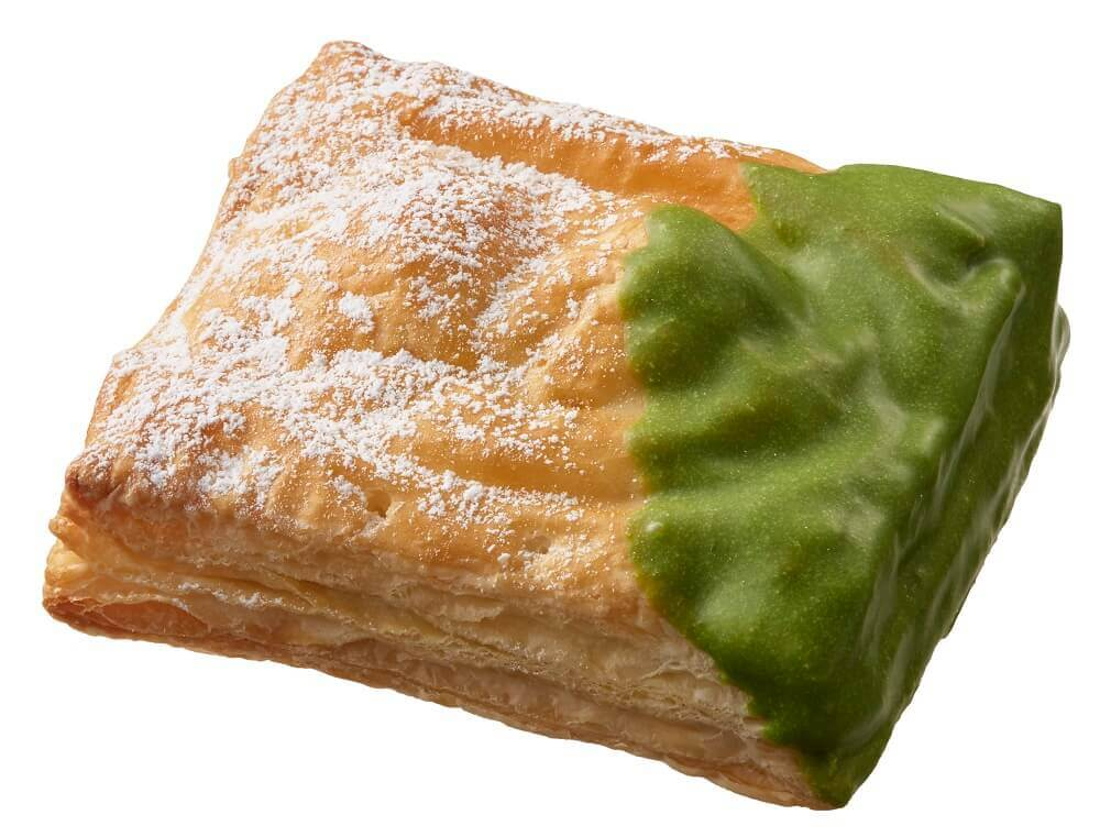 ミスタードーナツの『misdo meets 祇園辻利 第二弾 つや抹茶』-宇治抹茶チョコあずき白玉パイ