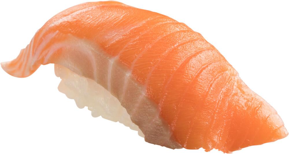 スシロー『GW100円(税込110円)ネタと肉祭』-「生キングサーモン」