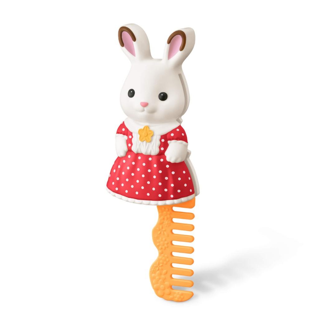 マクドナルドのハッピーセット「シルバニアファミリー」-ショコラウサギの女の子 コーム