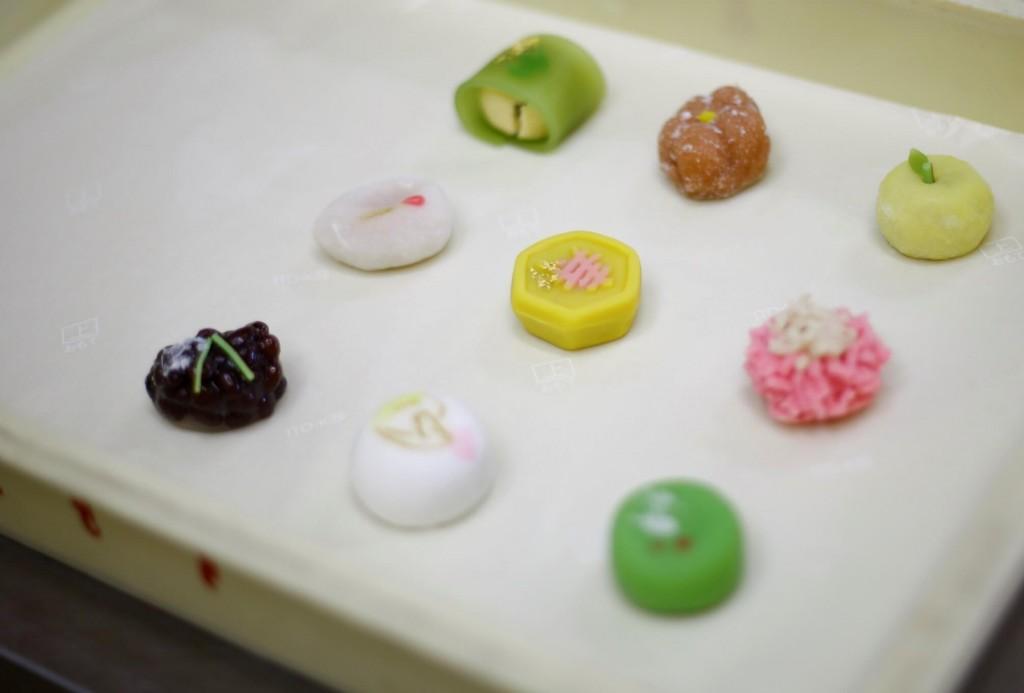 もりもとの『上生菓子製造風景(イメージ)』