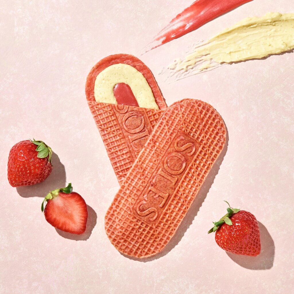SOLES GAUFRETTE(ソールズ ゴーフレット)の『バターゴーフレット スイートストロベリー』