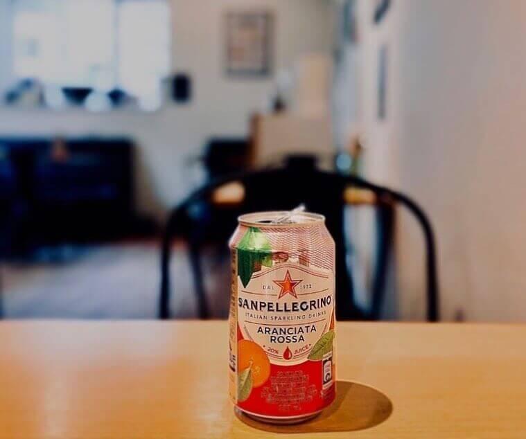 間借りカフェ coniglioの『サンペレグリノ(ブラッドオレンジ)』