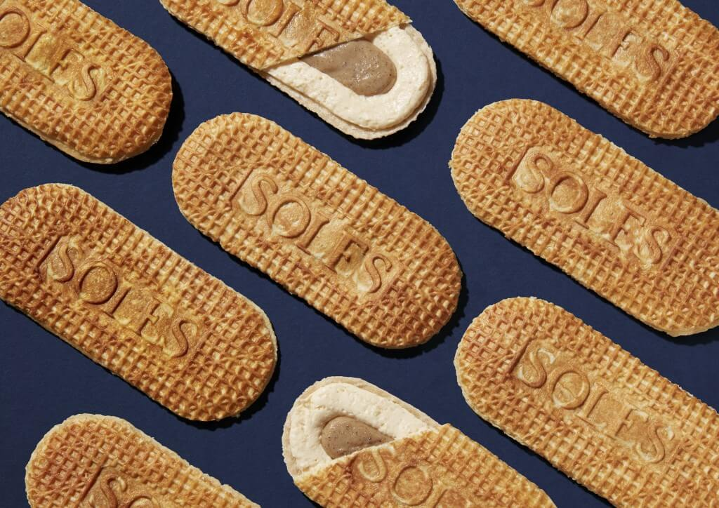 SOLES GAUFRETTE(ソールズ ゴーフレット)の『バターゴーフレット』