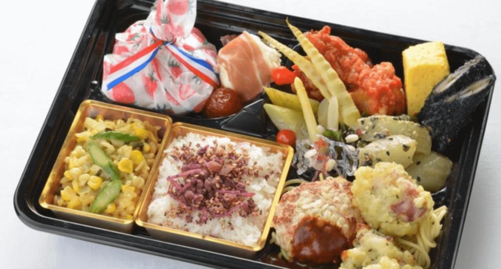 センチュリーロイヤルホテルの『栄養満点!シェフ金子のときめき☆もち麦弁当』