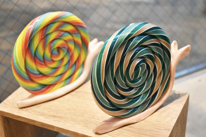 PAPABUBBLE/パパブブレの『特製カラーのかたつむりキャンディ』
