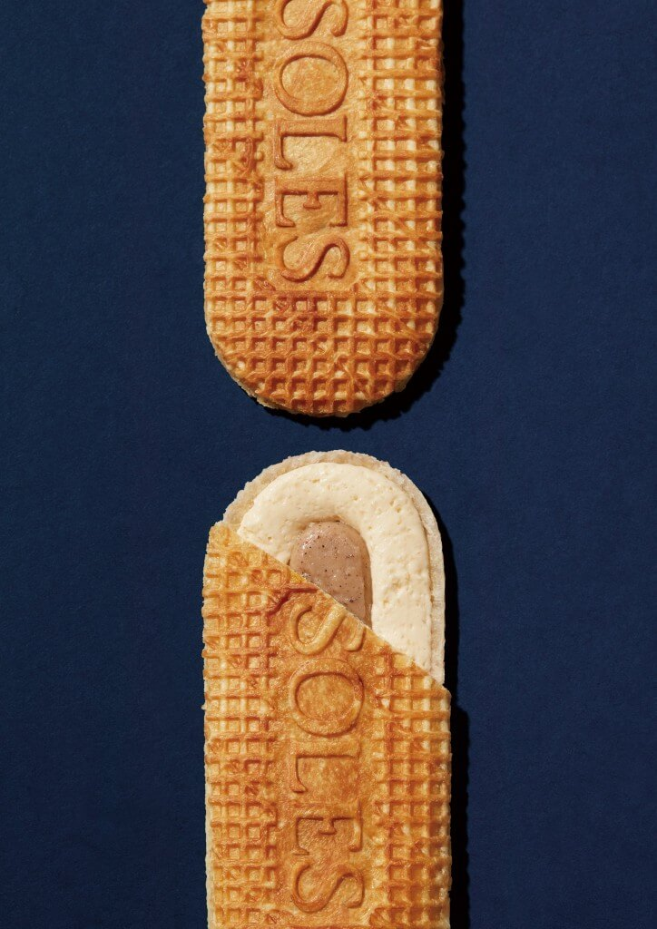 SOLES GAUFRETTE(ソールズ ゴーフレット)のこだわり-バタークリームとバニラジャムの2種のフィリング