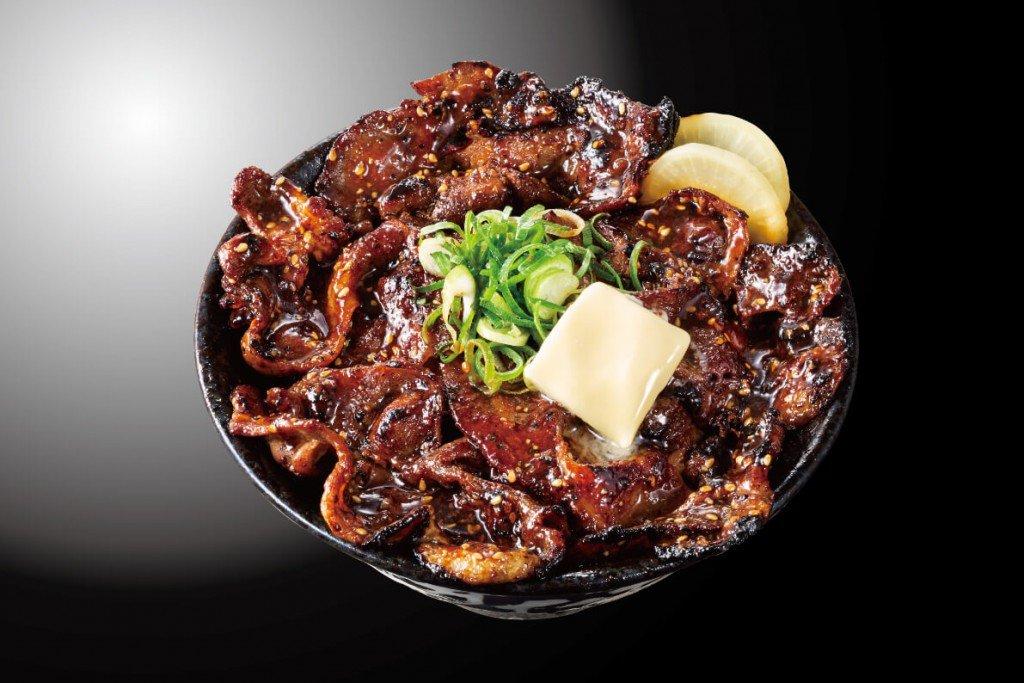 すた丼の『北海道すた丼~濃厚バター焦がし焼肉味~』