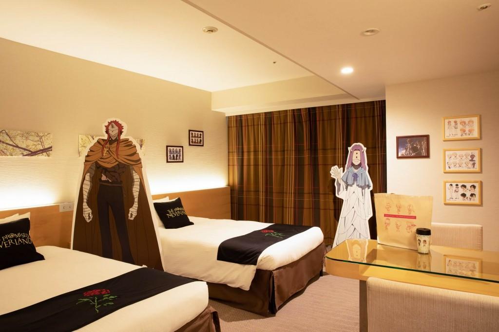 ホテル京阪×『約束のネバーランド』-コラボレーションルーム(イメージ画像)