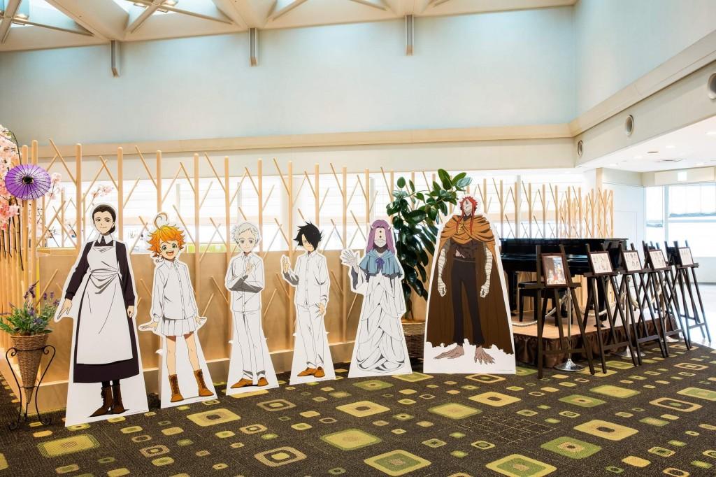 ホテル京阪×『約束のネバーランド』-館内展示