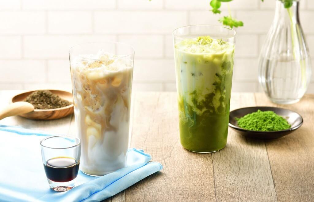 カフェ・ド・クリエの『凍頂烏龍ミルクティー~沖縄県産黒糖使用~(アイス)』
